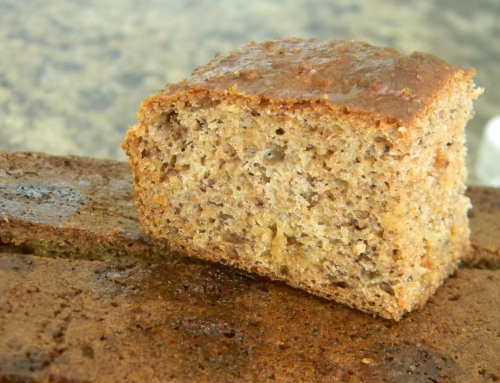 Banana Loaf (with local flour)