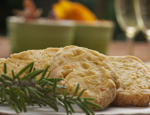 Amaranth Cheese Biscuits