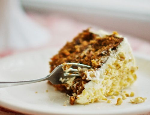 Super-moist Carrot Cake with Marula and Mongongo Nuts and Baobab-Cream Cheese frosting