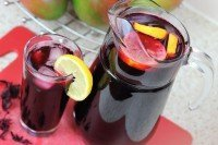 Amazing rosella and ginger iced tea